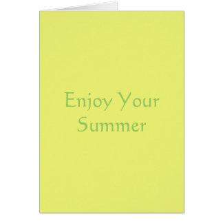 Citrus Yellow Card