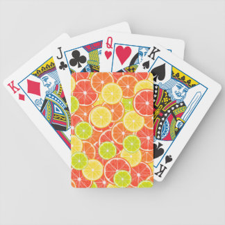 Citruses Bicycle Playing Cards