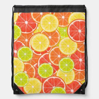 Citruses Drawstring Bag