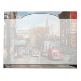 City - Amsterdam NY - Downtown Amsterdam 1941 Notepad