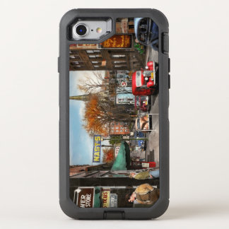 City - Amsterdam NY - Downtown Amsterdam 1941 OtterBox Defender iPhone 8/7 Case