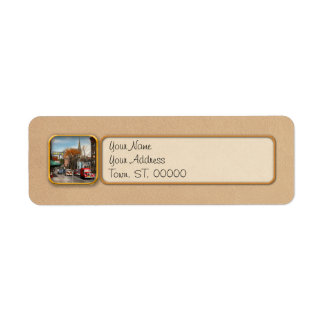 City - Amsterdam NY - Downtown Amsterdam 1941 Return Address Label