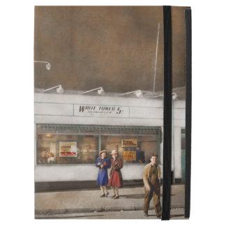 """City - Amsterdam NY - Hamburgers 5 cents 1941 iPad Pro 12.9"""" Case"""