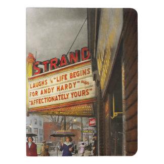 City - Amsterdam NY - Life begins 1941 Extra Large Moleskine Notebook