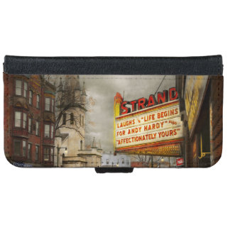 City - Amsterdam NY - Life begins 1941 iPhone 6 Wallet Case