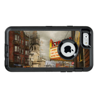 City - Amsterdam NY - Life begins 1941 OtterBox Defender iPhone Case