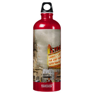 City - Amsterdam NY - Life begins 1941 Water Bottle