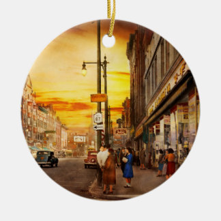 City - Amsterdam NY - The lost city 1941 Ceramic Ornament