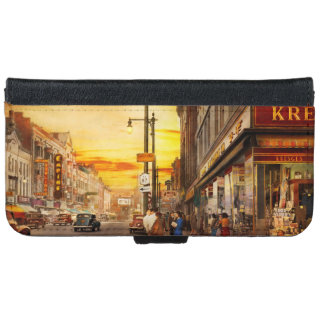 City - Amsterdam NY - The lost city 1941 iPhone 6 Wallet Case