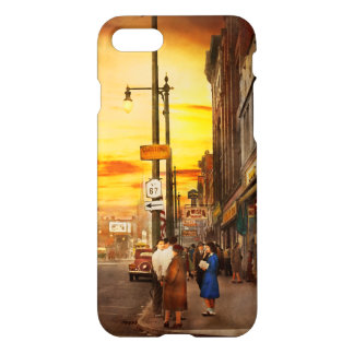 City - Amsterdam NY - The lost city 1941 iPhone 8/7 Case