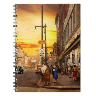 City - Amsterdam NY - The lost city 1941 Notebooks