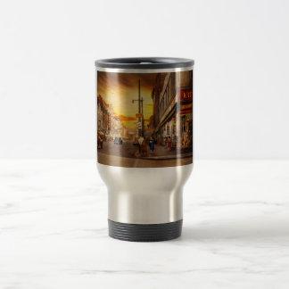 City - Amsterdam NY - The lost city 1941 Travel Mug