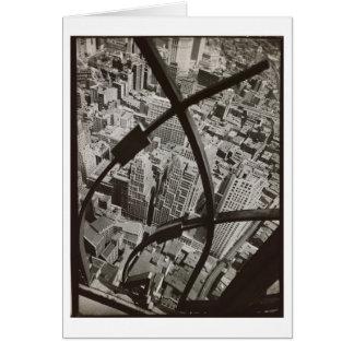 City Arabesque NYC Photo by Berenice Abbott Card