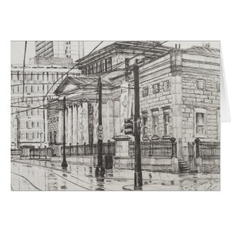 City Art Gallery Manchester. 2007 Card