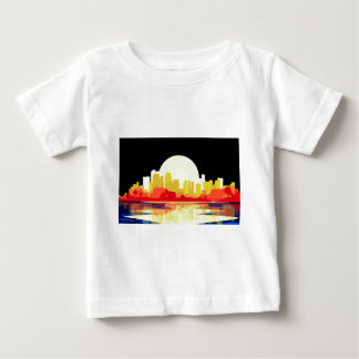 City at Night Baby T-Shirt