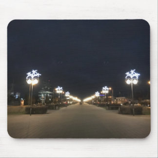 City at night mouse mat