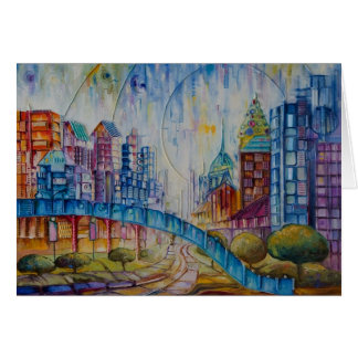 City at Peace Greeting Card