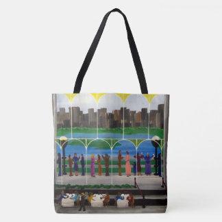City Balcony Tote Bag
