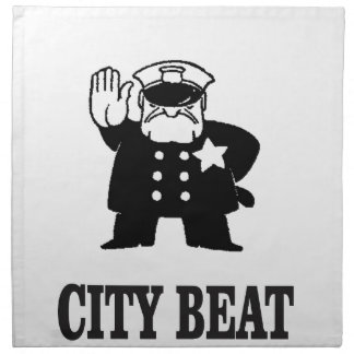 city beat napkin