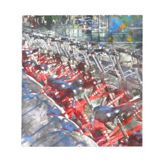 City Bicycles in Barcelona Notepad