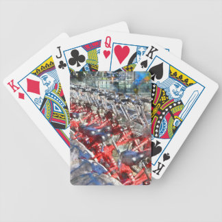 City Bicycles in Barcelona Poker Deck