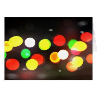 City Bokeh Blur Cards