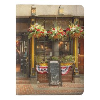 City - Boston MA - For the weary traveler Extra Large Moleskine Notebook