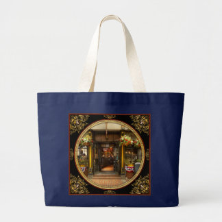 City - Boston MA - For the weary traveler Large Tote Bag