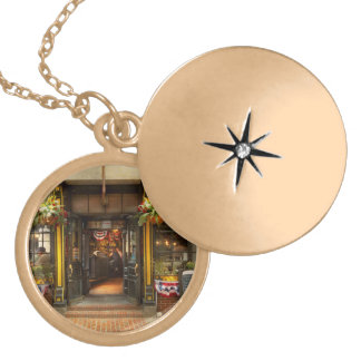 City - Boston MA - For the weary traveler Locket Necklace