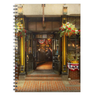 City - Boston MA - For the weary traveler Notebook