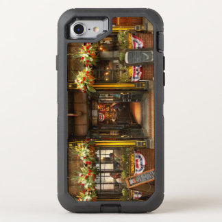 City - Boston MA - For the weary traveler OtterBox Defender iPhone 8/7 Case