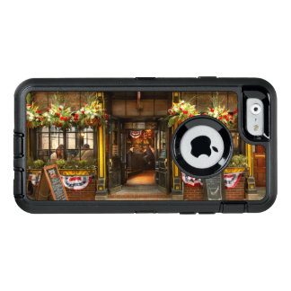 City - Boston MA - For the weary traveler OtterBox Defender iPhone Case