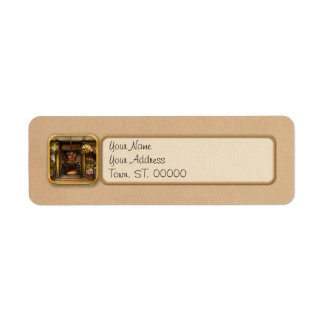 City - Boston MA - For the weary traveler Return Address Label