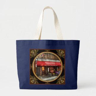 City - Boston, MA - Pellino's Ristorante Large Tote Bag