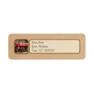 City - Boston, MA - Pellino's Ristorante Return Address Label