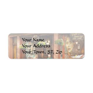 City - Boston MA - Villa Francesca Return Address Label