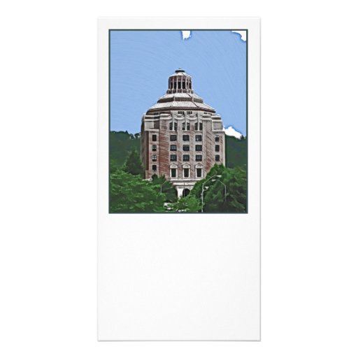 City Building, Asheville, NC Photo Greeting Card