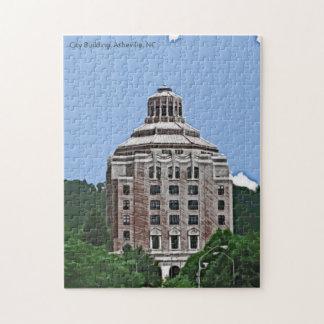 City Building, Asheville, NC Puzzle