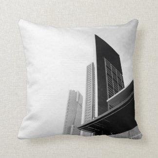 City Buildings Throw Pillow
