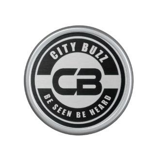 City Buzz Round Sound Speaker