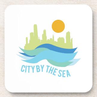 City By Sea Beverage Coaster