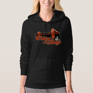 City by the Bay Hooded Pullovers