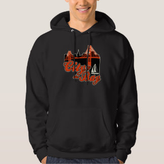 City by the Bay Hooded Sweatshirts