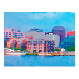 City by the Sea Postcard