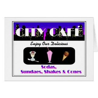 City Café Card