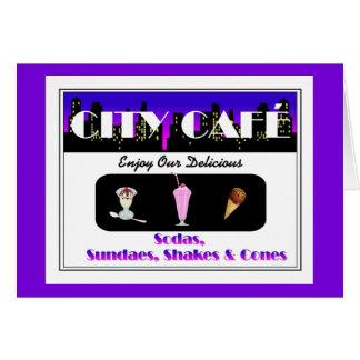 City Café Purple Card