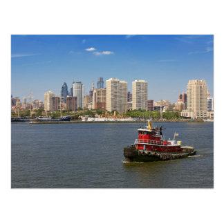 City - Camden, NJ - The city of Philadelphia Postcard