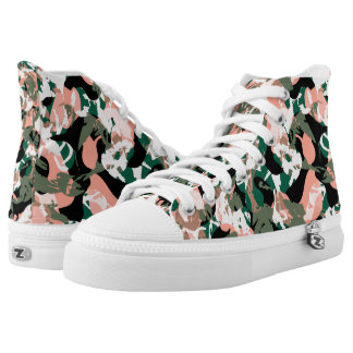 City Camouflage Printed Shoes