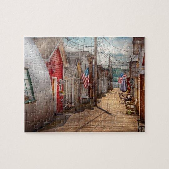 City - Canandaigua, NY - Shanty town Jigsaw Puzzle