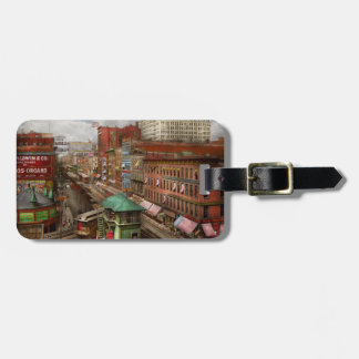 City - Chicago - Piano Row 1907 Luggage Tag
